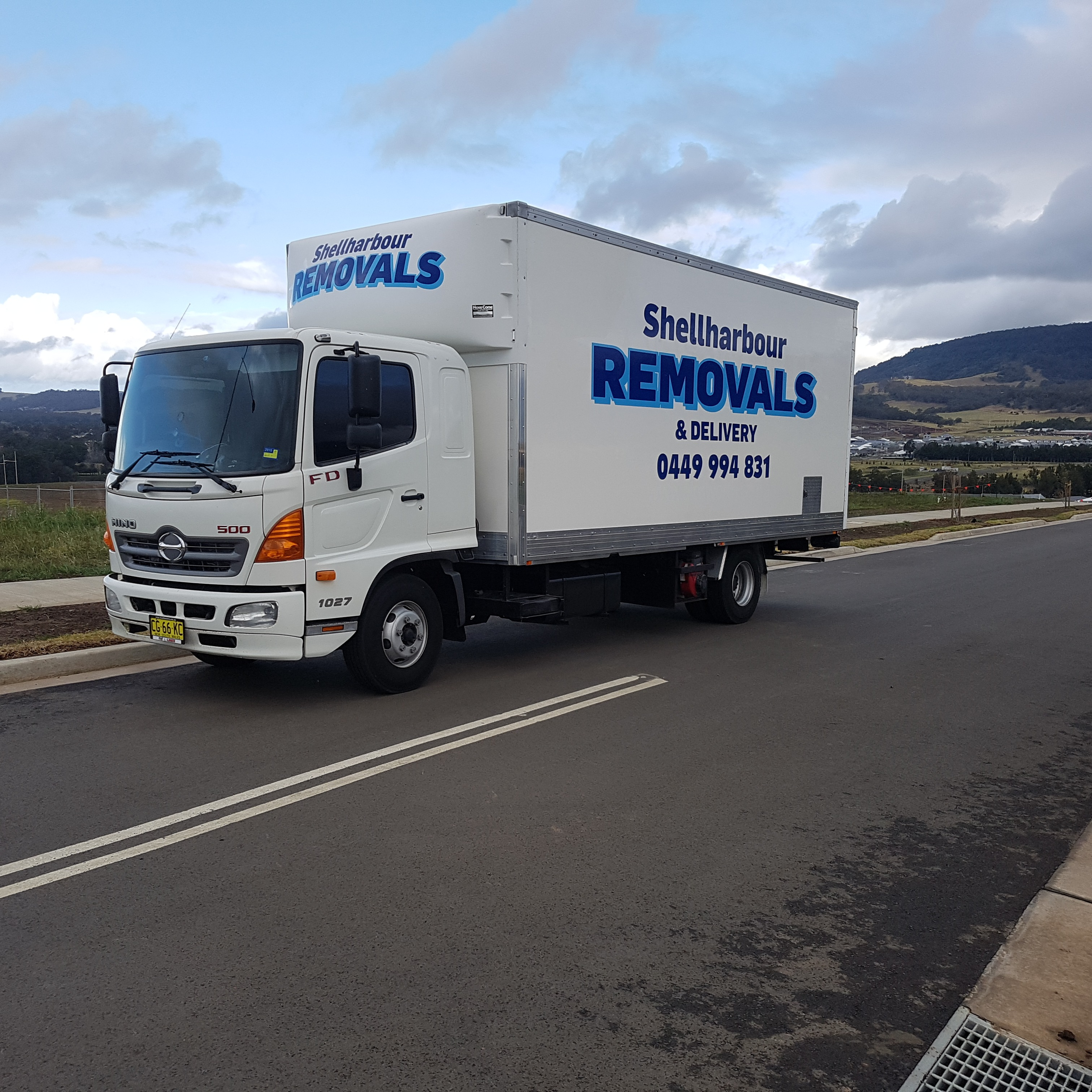 Shellharbour removals and deliverys