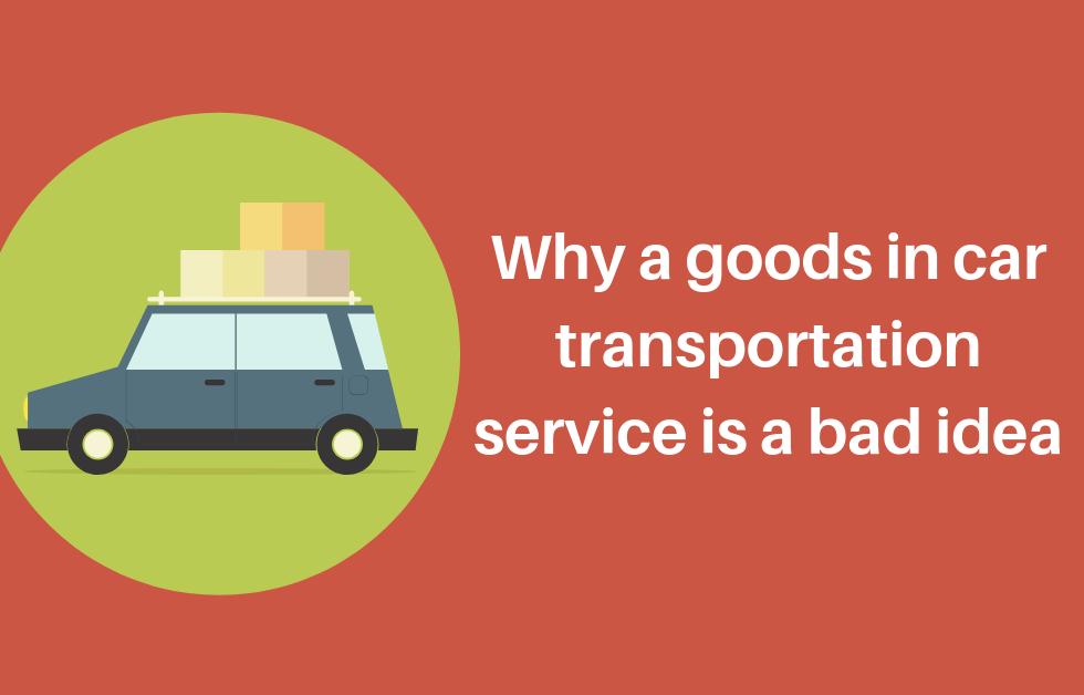 goods in service car transportation