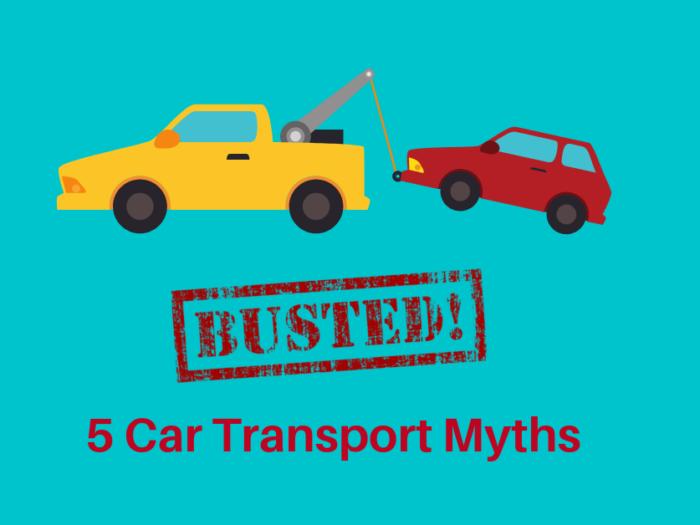 5 car transport myths busted
