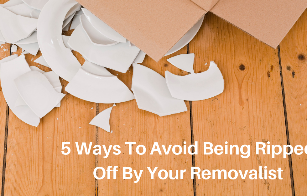5 ways to avoid being ripped off by your removalist