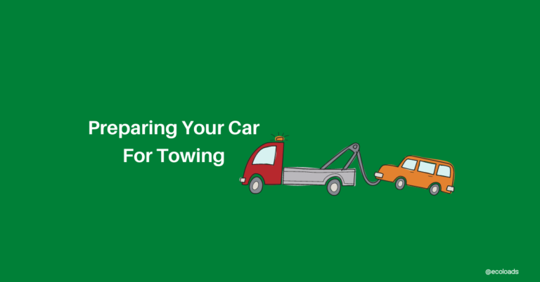 Preparing For Towing Your Car Safely